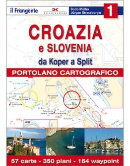 PORTOLANO CARTOGRAFICO 1 Croazia e Slovenia - volume 1