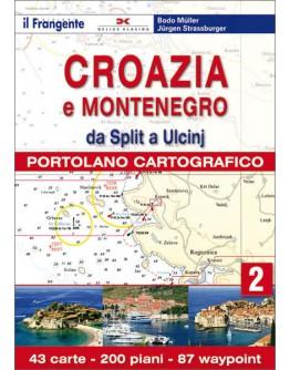 PORTOLANO CARTOGRAFICO Croazia e Montenegro - volume 2