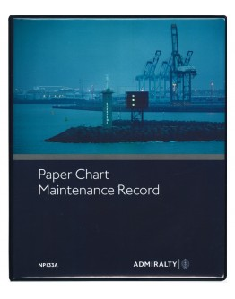 NP133A - Paper Chart Maintenance Record