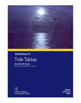 NP204 - Vol. 4 - Pacific Ocean [including Tidal Stream Tables]