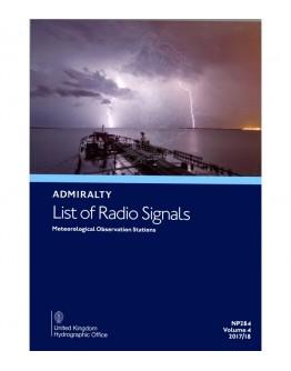 NP284 - Meteorological Observation Stations  - Volume 4