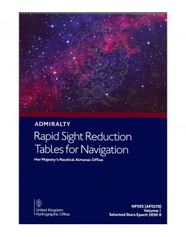 NP303 (1) - Rapid Sight Reduction Tables For Navigation: Selected Stars