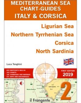 MEDITERRANEAN SEA CHART-GUIDE 2 Italy and Corsica - Ligurian Sea, Northern Tyrrhenian Sea, Corsica, North Sardinia -ENGLISH
