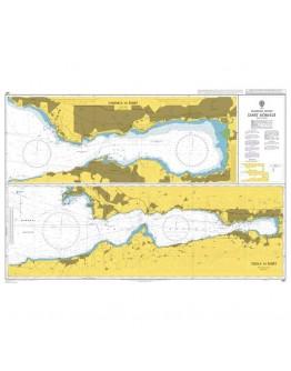 497 - Turkey, Marmara Denizi, İzmit Körfezi - Plan A) Tuzla to İzmit - Plan B) Yarimca to İzmit - Plan C) Diliskelesi