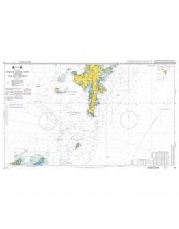 1119 - International Chart Series, United Kingdom, Orkney and Shetland Islands Fair Isle Channel