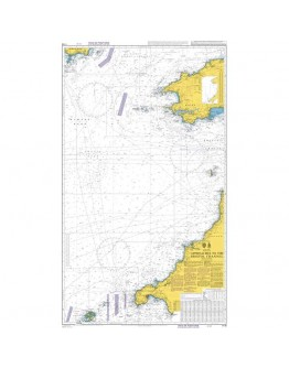 1178 - International Chart Series, United Kingdom and Ireland, Approaches to the Bristol Channel
