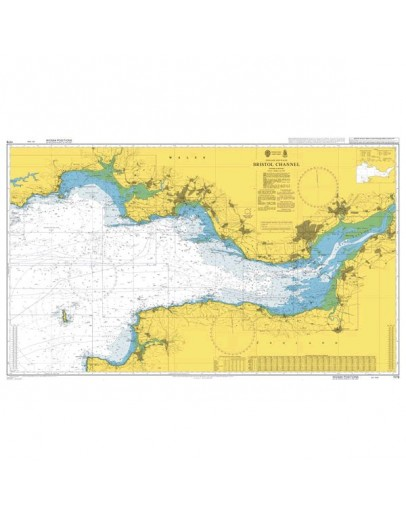 1179 - International Chart Series, England and Wales, Bristol Channel