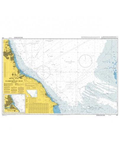 1191 - International Chart Series, England - East Coast, River Tyne to Flamborough Head