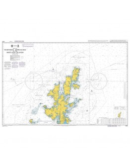 1233 - International Chart Series, United Kingdom, Northern Approaches to the Shetland Islands