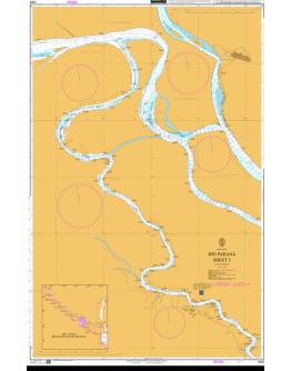 1325 - Argentina, Río Paraná Sheet 3