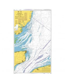 1610 - International Chart Series, England - East Coast, Approaches to the Thames Estuary