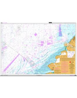 1630 - International Chart Series, North Sea, Netherlands, West Hinder and Outer Gabbard to Vlissingen and Scheveningen