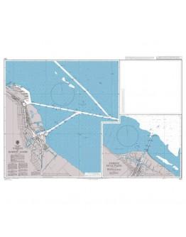 1751 - Argentina, Rίo de La Plata, Puerto de Buenos Aires and Puerto La Plata - Plan A) Puerto de Buenos Aires - Plan B) Puerto La Plata