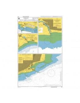 1991 - Harbours on the South Coast of England - Plan A) Brighton Marina - Plan B) Littlehampton Harbour - Plan C) Rye Harbour - Plan D) Folkestone Harbour