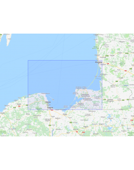 2040 - International Chart Series, Baltic Sea, Stilo to Klaipėda including Gulf of Gdańsk