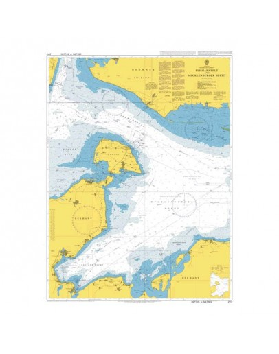 2117 Baltic Sea, Denmark and Germany, Fehmarn Belt and Mecklenburger Bucht