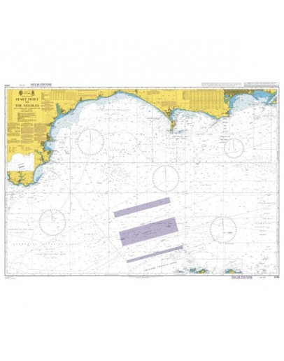 2454 - International Chart Series, English Channel, Start Point to The Needles including Off Casquets TSS