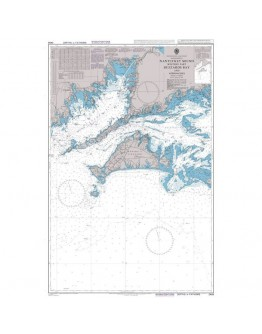2456 - United States - East Coast, Massachusetts, Nantucket Sound Western Part, Buzzards Bay and Approaches