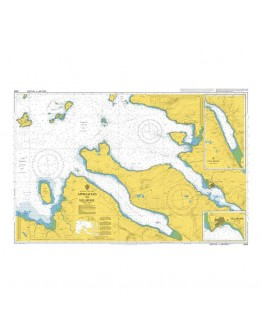 2500 - Scotland - West Coast, Ullapool and Approaches - Plan A) Continuation of Loch Broom - Plan B) Ullapool