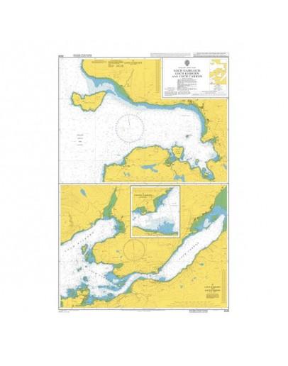 2528 - Scotland - West Coast, Loch Gairloch, Loch Kishorn and Loch Carron - Plan A) Loch Gairloch - Plan B) Loch Kishorn and Loch Carron - Plan C) Strome Narrows