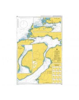 2540 - Scotland - West Coast, Loch Alsh and Approaches - Plan A) Kyle Akin - Plan B) Kyle Rhea