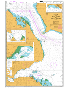 265 - International Chart Series, Gulf of Aden, Bab El Mandeb and Golfe De Tadjoura - Tadjoura Anchorage - Entrance to Ghoubbet El Kharab - Port of Obock
