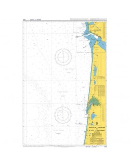 2664 - International Chart Series, France - West Coast, Pointe de la Coubre to Pointe d'Arcachon