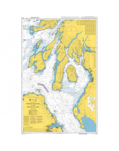2724 - International Chart Series, United Kingdom, North Channel to the Firth of Lorn