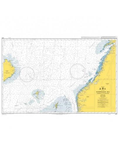 4101 - International Chart Series, Norwegian Sea, Norway to Iceland