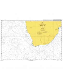 4204 - International Chart Series, South Atlantic and Indian Oceans, Walvis Bay to Maputo