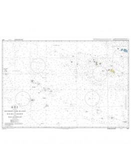 4657 - International Chart Series, South Pacific Ocean, Southern Cook Islands to Îles de la Société and Îles Australes