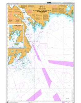 4752  - International Chart Series, Nova Scotia/Nouvelle-Écosse, Southeast - Coast/Côte Sud-Est, Approaches to/ Approches De Halifax Harbour - Sambro Harbour