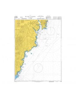 896  - Korea - East Coast, Ulsan Hang to Daebyeon Hang