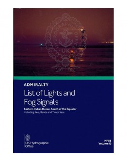 NP88 - ADMIRALTY List of Lights and Fog Signals Vol. Q - Coverage: Eastern Indian Ocean, South of the Equator Including Java, Banda and Timor Seas