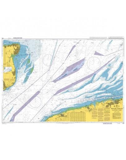 323 - International Chart Series, Dover Strait, Eastern Part.