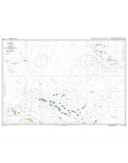 4654 - International Chart Series, South Pacific Ocean, Tahiti to Îles Marquises