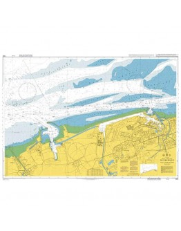 1350 - International Chart Series, France - North Coast, Dunkerque and Approaches