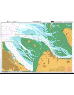 DE44 - International Chart Series, North Sea and Baltic Sea, Germany, Nord-Ostsee-Kanal (Kiel Canal) - Plan A) Brunsbüttel to Hohenhörn - Plan B) Hohenhörn to Kiel - Plan C) Brunsbüttel. D Kiel - Plan E) Rendsburg