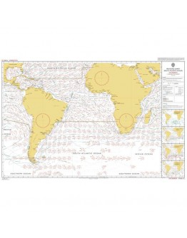 5125 (1-12) - Routeing Chart, South Atlantic Ocean