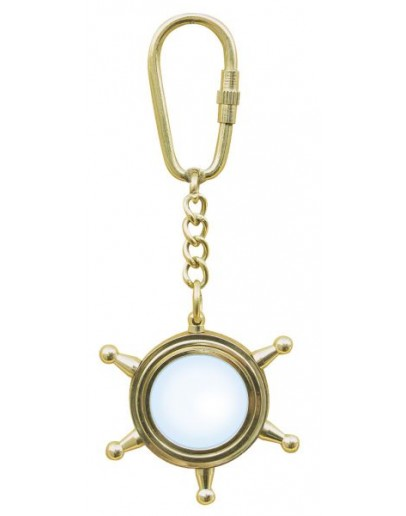 """Keyring """"Wheel with Magnifier"""""""