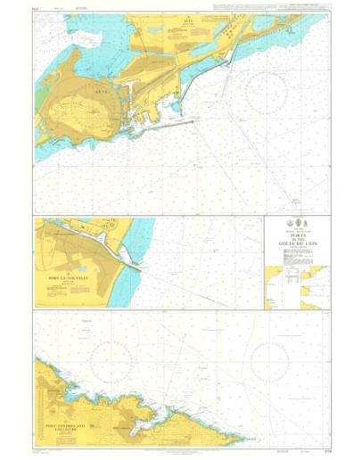 2114 - Ports in the Golfe Du Lion