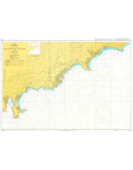 2245 - International Chart Series, France - South Coast, Villefranche-sur-Mer to Menton