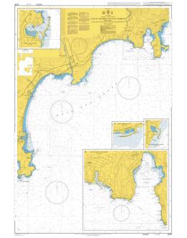 2246 - International Chart Series, France - South Coast, Cap d'Antibes to Cap Ferrat including Baie des Anges and Rade de Villefranche