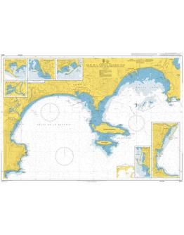 2247 - Golfe de la Napoule and Golfe Juan including Iles de Lerins and the Approaches to Cannes