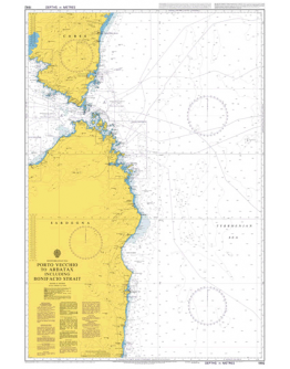 1992 - Porto Vecchio to Arbatax including Bonifacio Strait