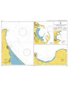 580 - Al Hoceima, Melilla and Port Nador with Approaches