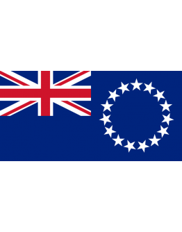 Flag Cook Islands - 20 x 30
