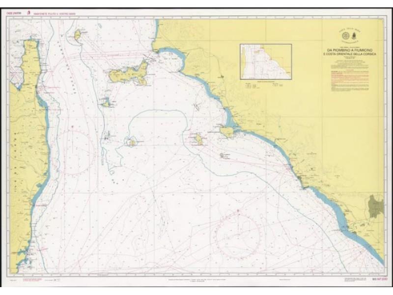 913 - Da Piombino a Fiumicino e costa orientale della Corsica