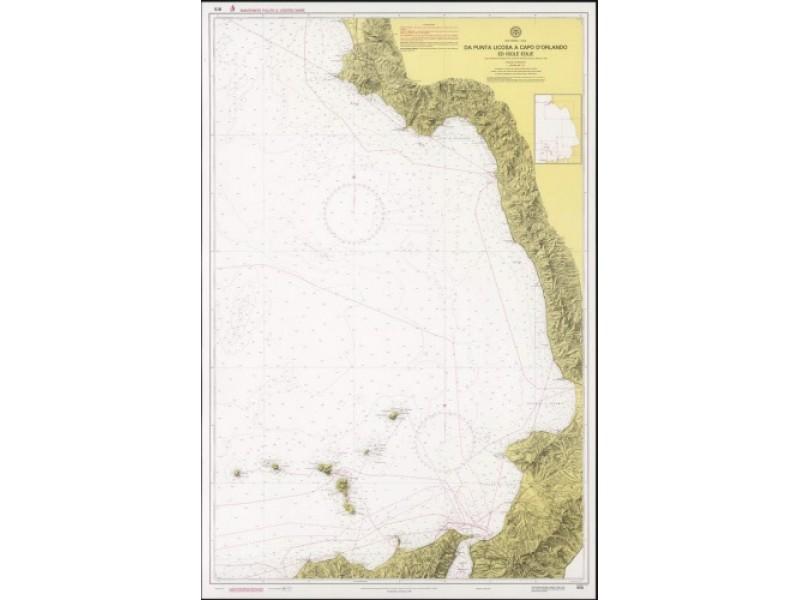 915 - Da Punta Licosa a Capo D'Orlando ed Isole Eolie