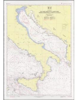 435 - Dal Mare Adriatico al Mare Ionio - Tirreno Meridionale e Stretto di Sicilia